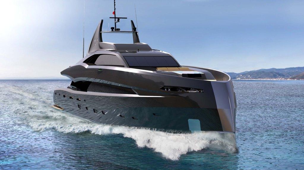 The Gotham Project Superyacht Dutch yacht