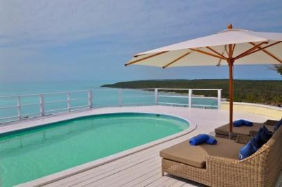 Blue Island ocean-view swimming pool