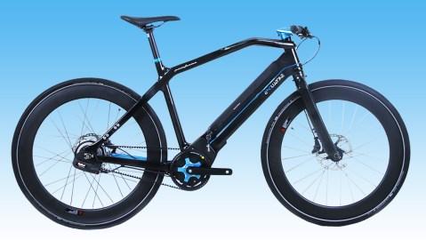 Pininfarina Elettronica limited edition e-bike in blue