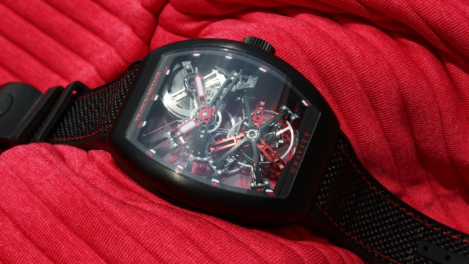 Franck Muller Gravity Skeleton Watch