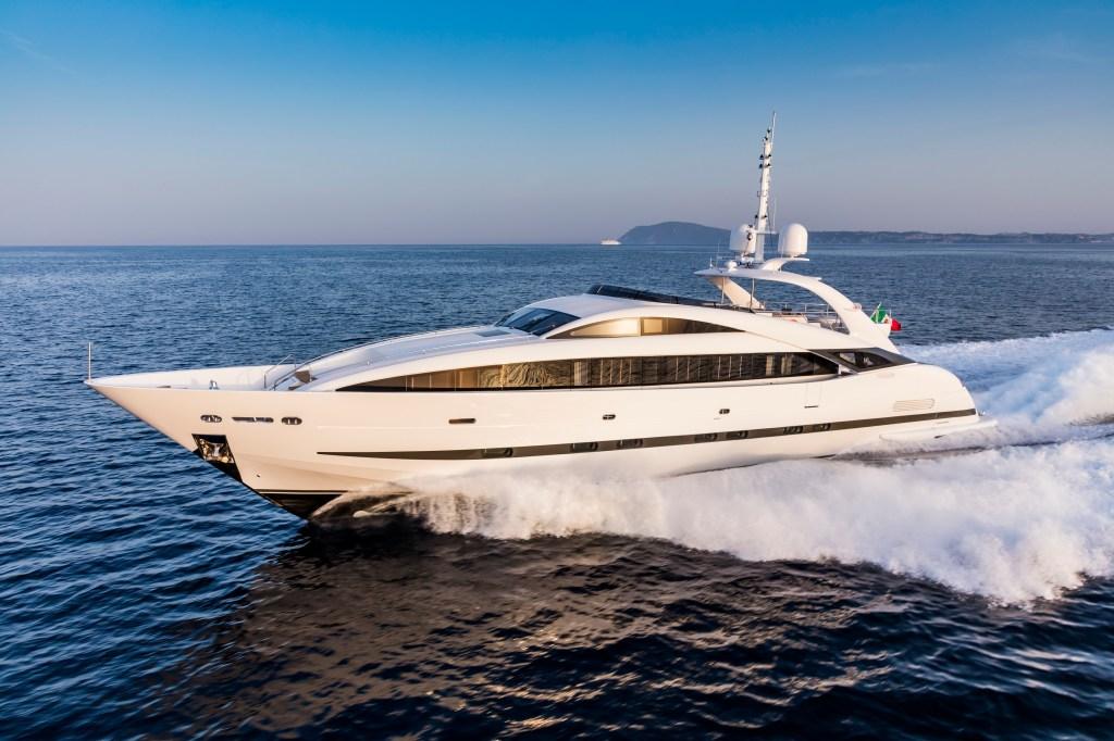 ISA 120 Sport Clorinda Italian yacht Palumbo