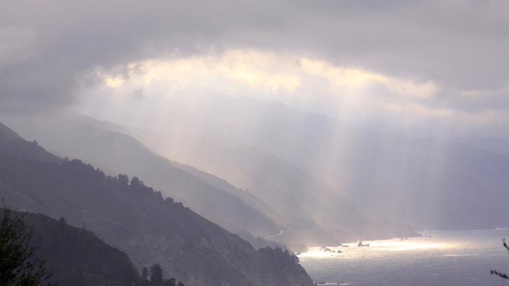 Big Sur, off the coast of California.