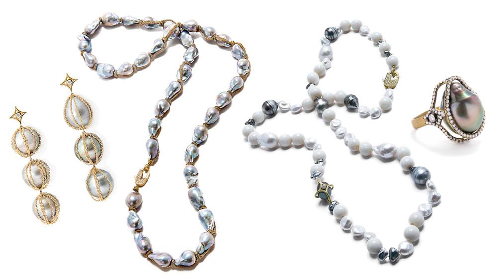 Jordan Alexander jewelry Collage