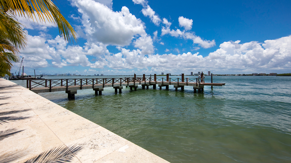 4567 Indian Creek Island in Miami. waterfront