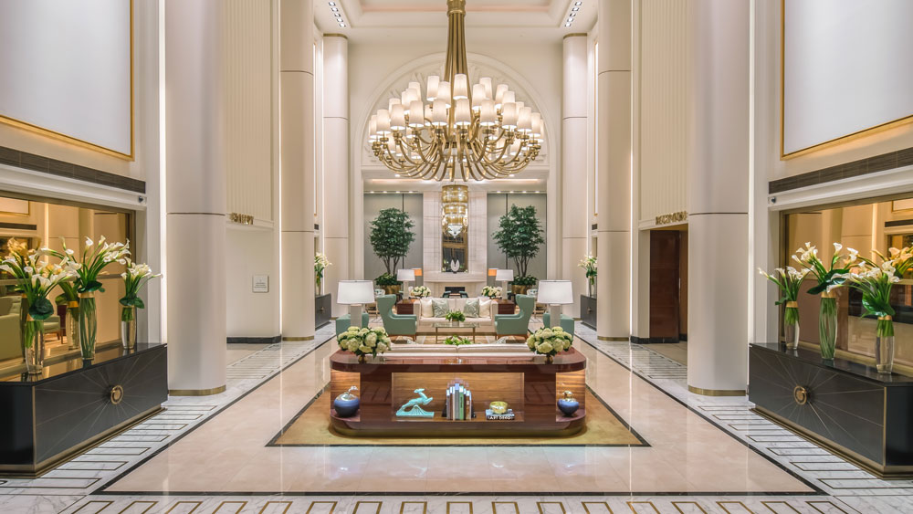 Prairie Spa at the Waldorf Beverly Hills foyer