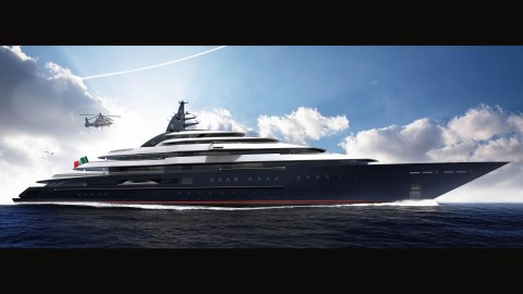 Lürssen Gigayacht Project Redwood Nuvolari-Lenard superyacht