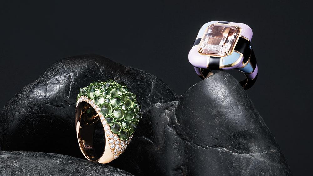 Mattioni designer rings