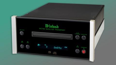 McIntosh MCT80 CD/SACD Player front