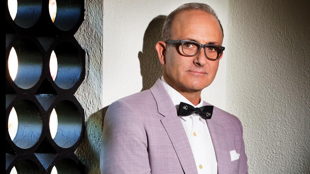 Interior designer Michael Berman portrait