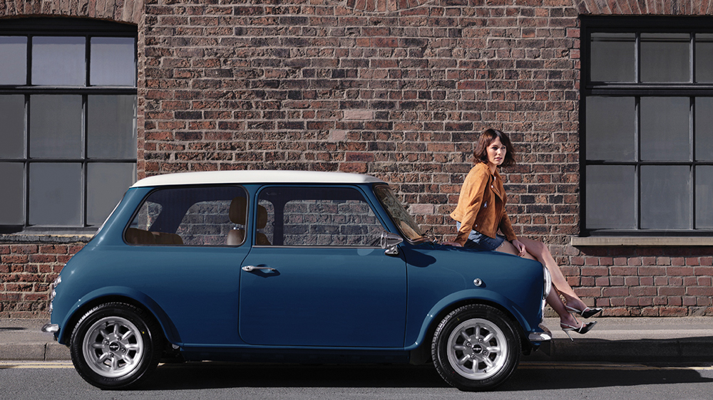 mini remastered in blue