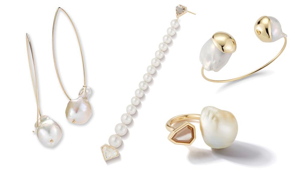 Mizuki jewelry Collage designs