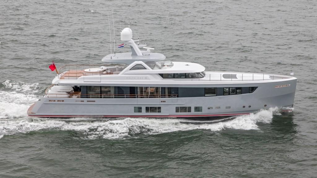 Mulder Shipyard ThirtySix Delta One Superyacht Dutch yard