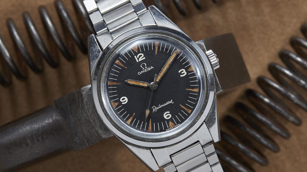 Omega Railmaster Watch
