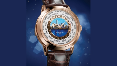 Patek Philippe's World Time Minute Repeater face of watch
