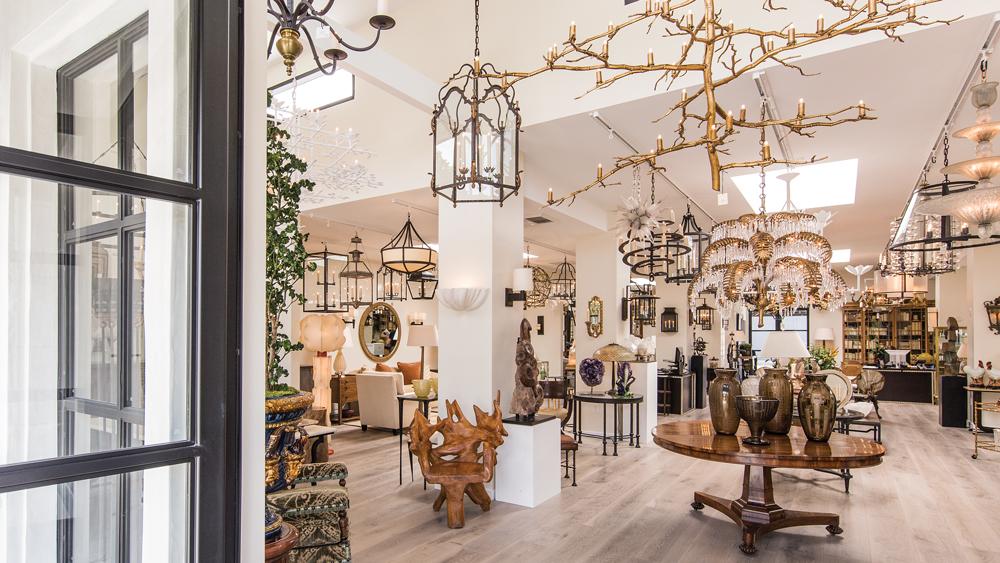 paul ferrite showroom interior