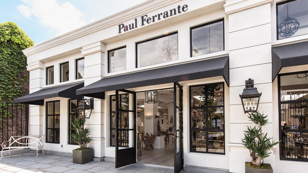 paul ferrite showroom storefront