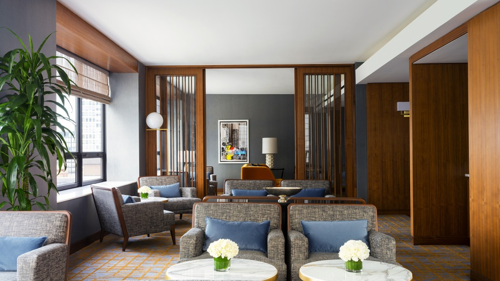 The Club Lounge at Ritz-Carlton, Chicago