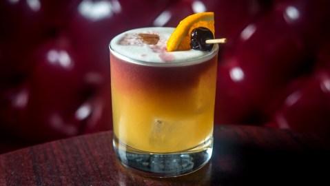 Rum House's Cotton Sour cocktail