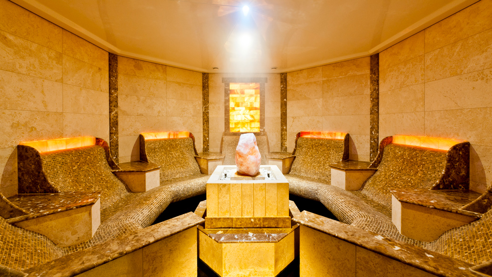Salt Grotto at the Grand New Spa in Le Grand Bellevue