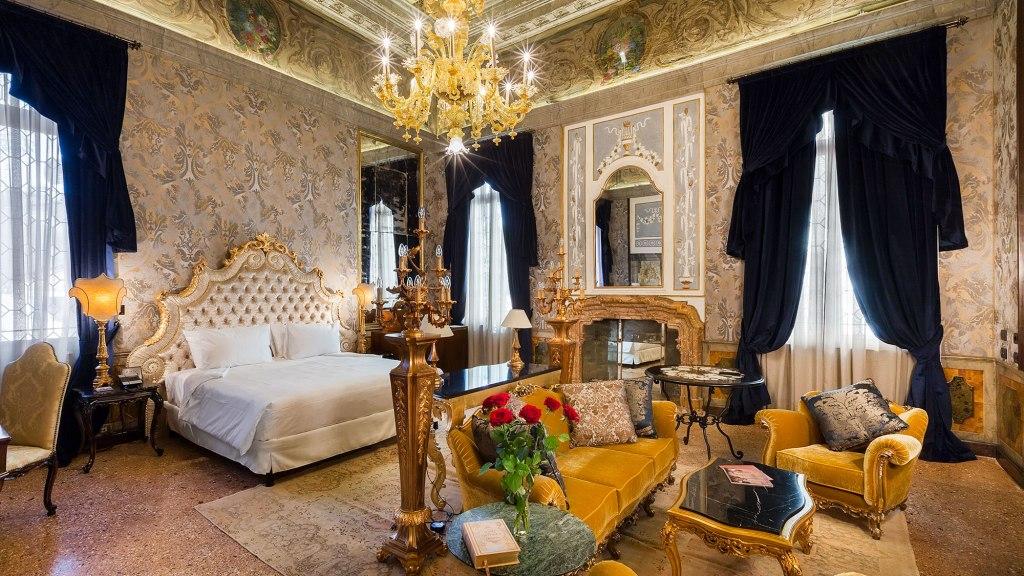 Palazzo Venart: San Marco Suite
