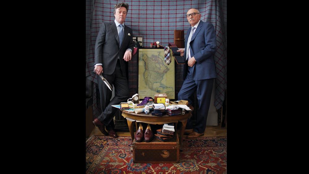 savile row tailors Richard Anderson