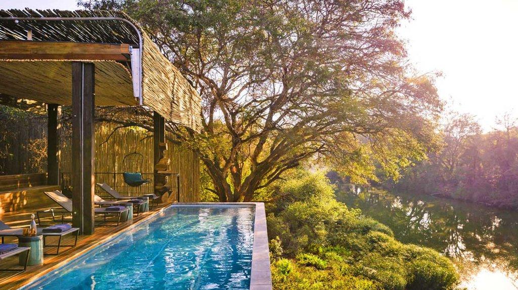 South Africa's Singita Sweni safari lodge.
