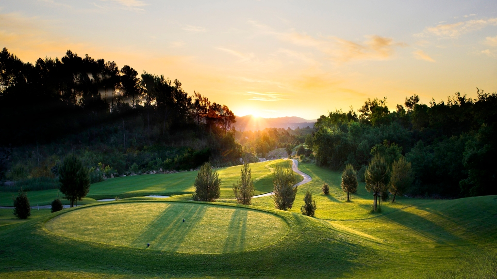 Terre Blanche Hotel Spa Golf Resort golf course.