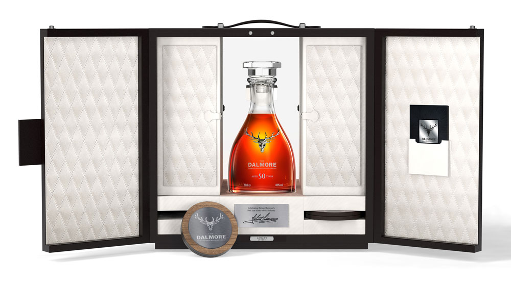 The Dalmore 50 Year Old one of only 50 bottles made