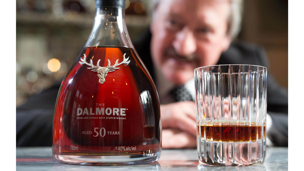 The man behind The Dalmore 50 Year Old whisky, Richard Patterson