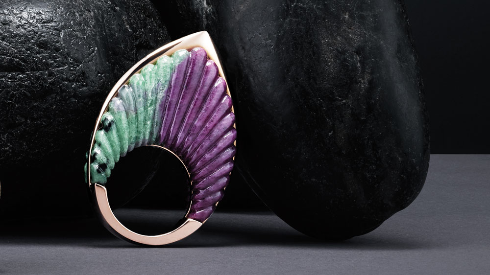 Tito Pedrini designer rings