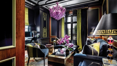 Toronto Chateau Designed by Lori Morris smoking room