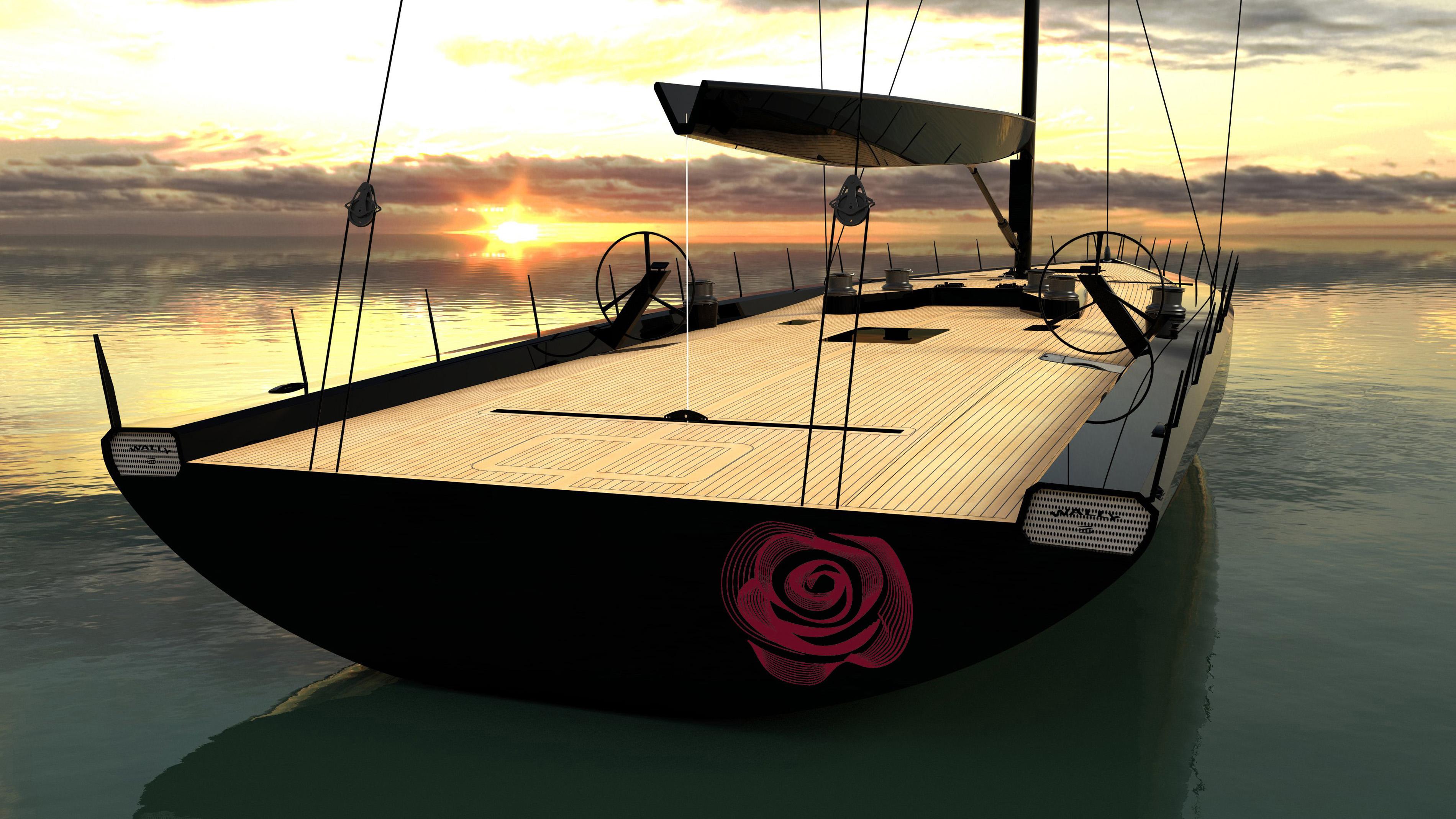Wallycento Tango sailing yacht race