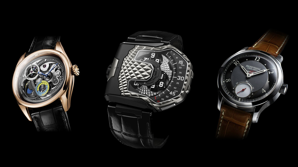 Andreas Strehler, URWerk, and Hajime Asaoka Watches