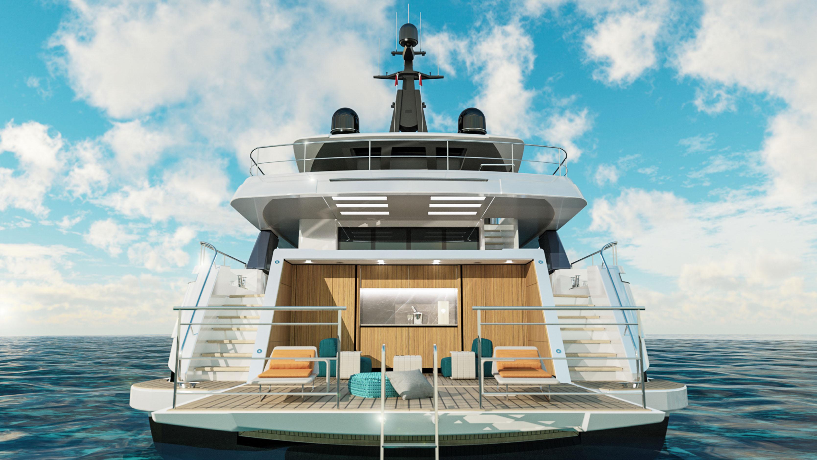 Wider 130 Yacht Italian Superyacht