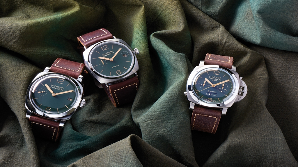 Panerai Green Dial Limited Edition Collection