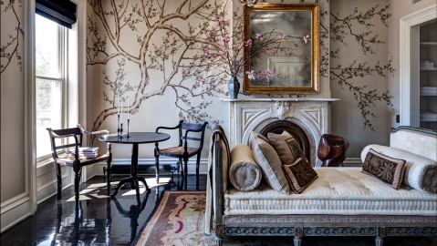 Interior design project by Roman and Williams