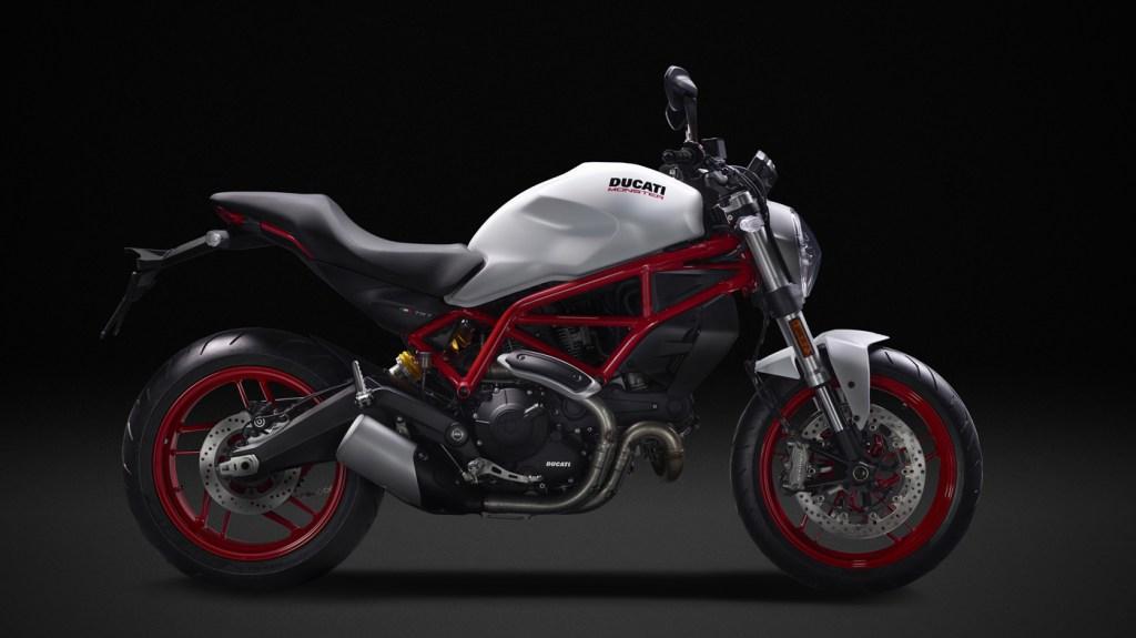 The Ducati Monster 797.