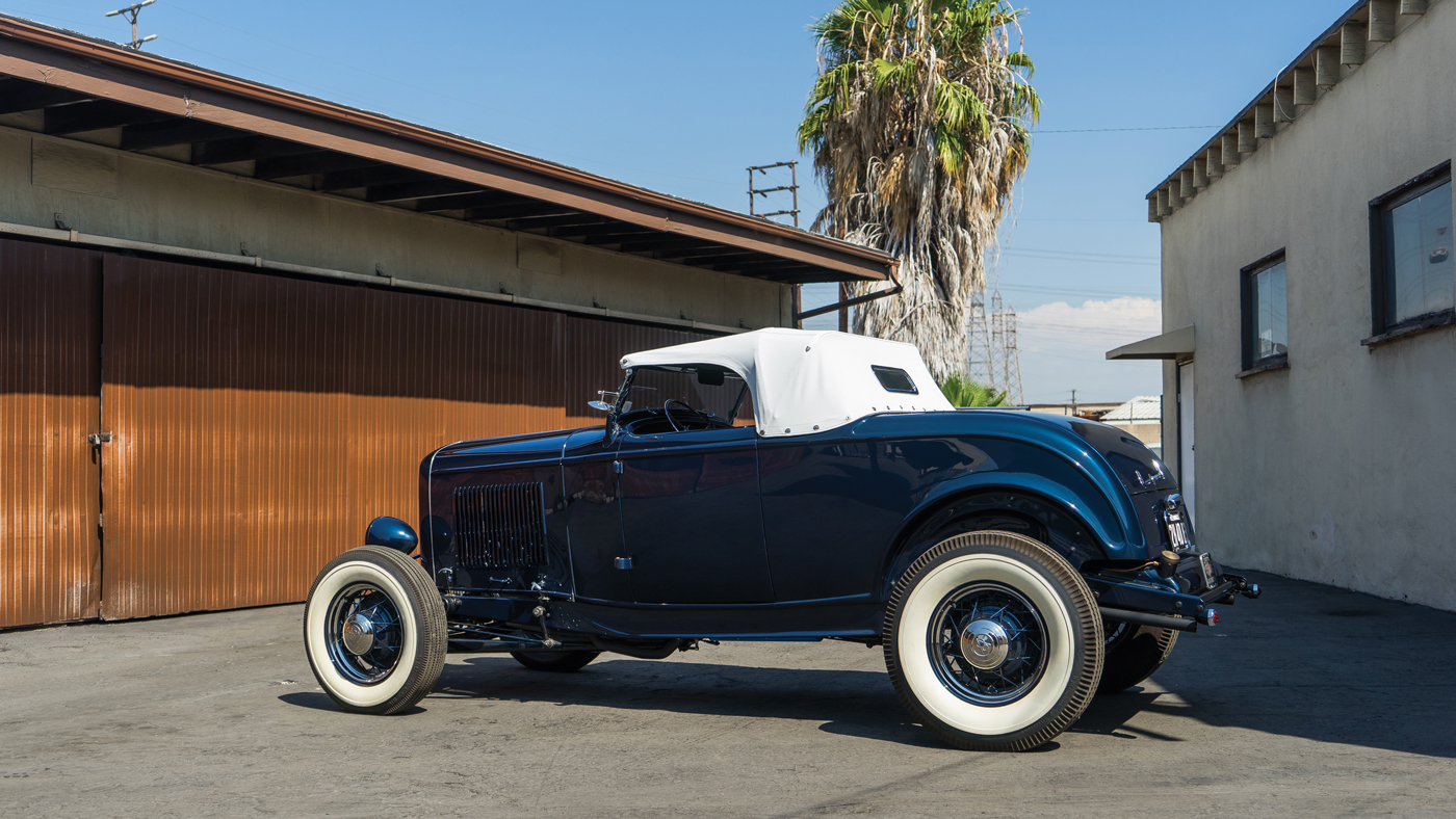 """The 1932 Ford """"Pete Henderson"""" Roadster 1944."""