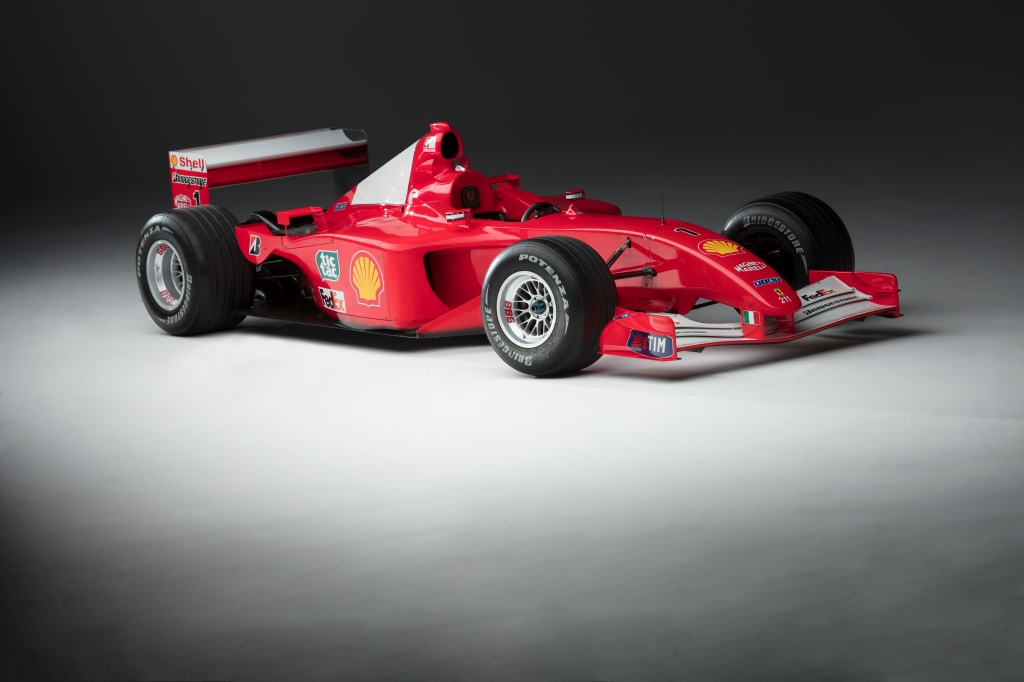 Michael Schumacher S Formula 1 Ferrari Races To Sotheby S Sale Robb Report