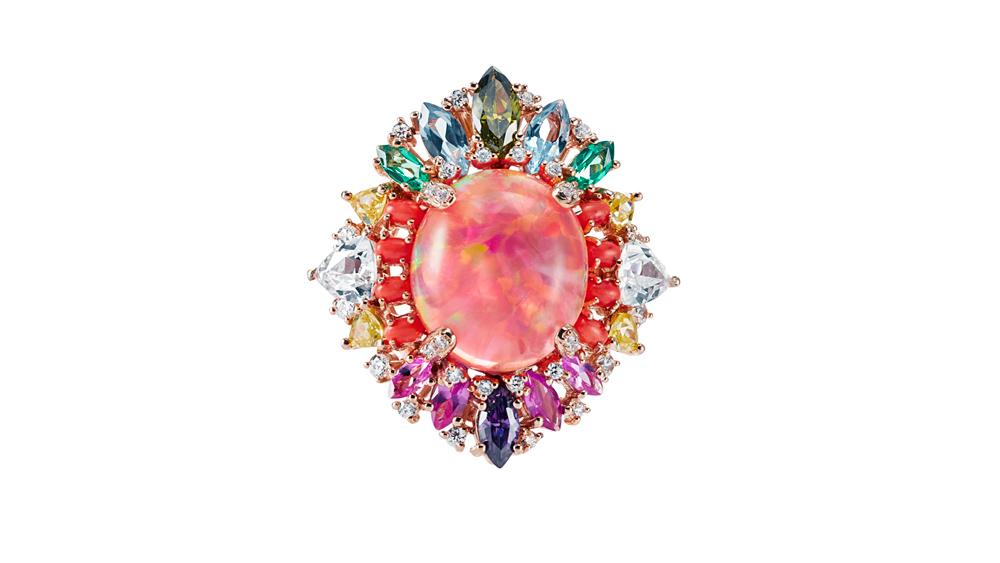 Anabela Chan Opals Nereides Ring