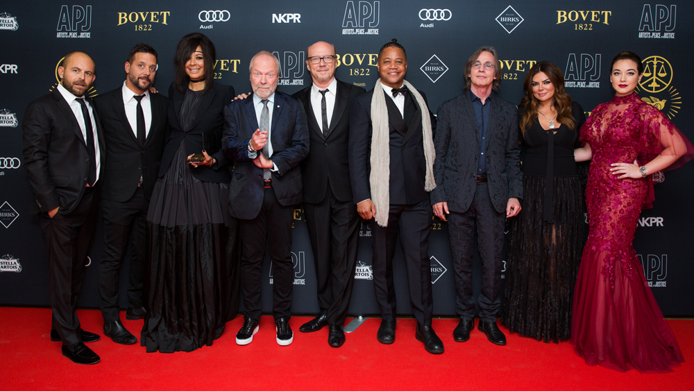 Artists for Peace and Justice Gala Presented By Bovet