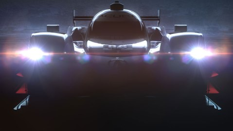Acura ARX-05 Prototype Racecar