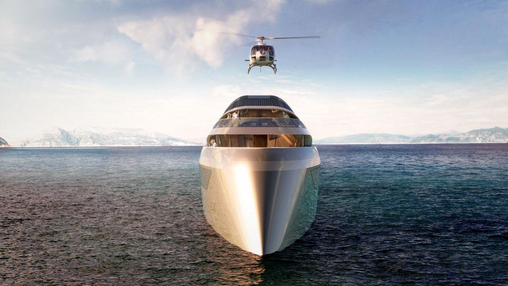 Benetti Se77antasette Superyacht