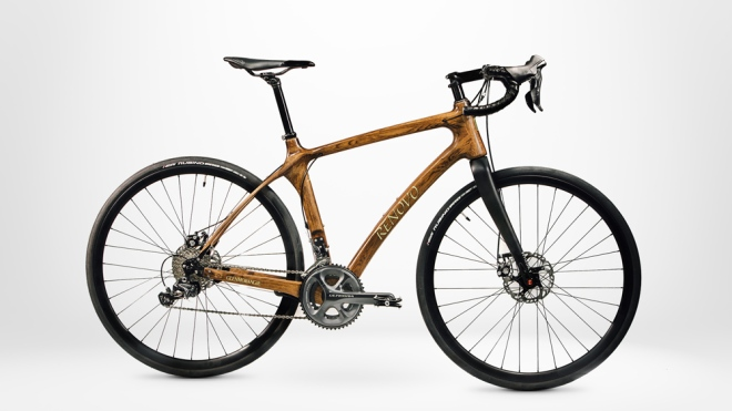 Glenmorangie Original by Renovo wood bike on white