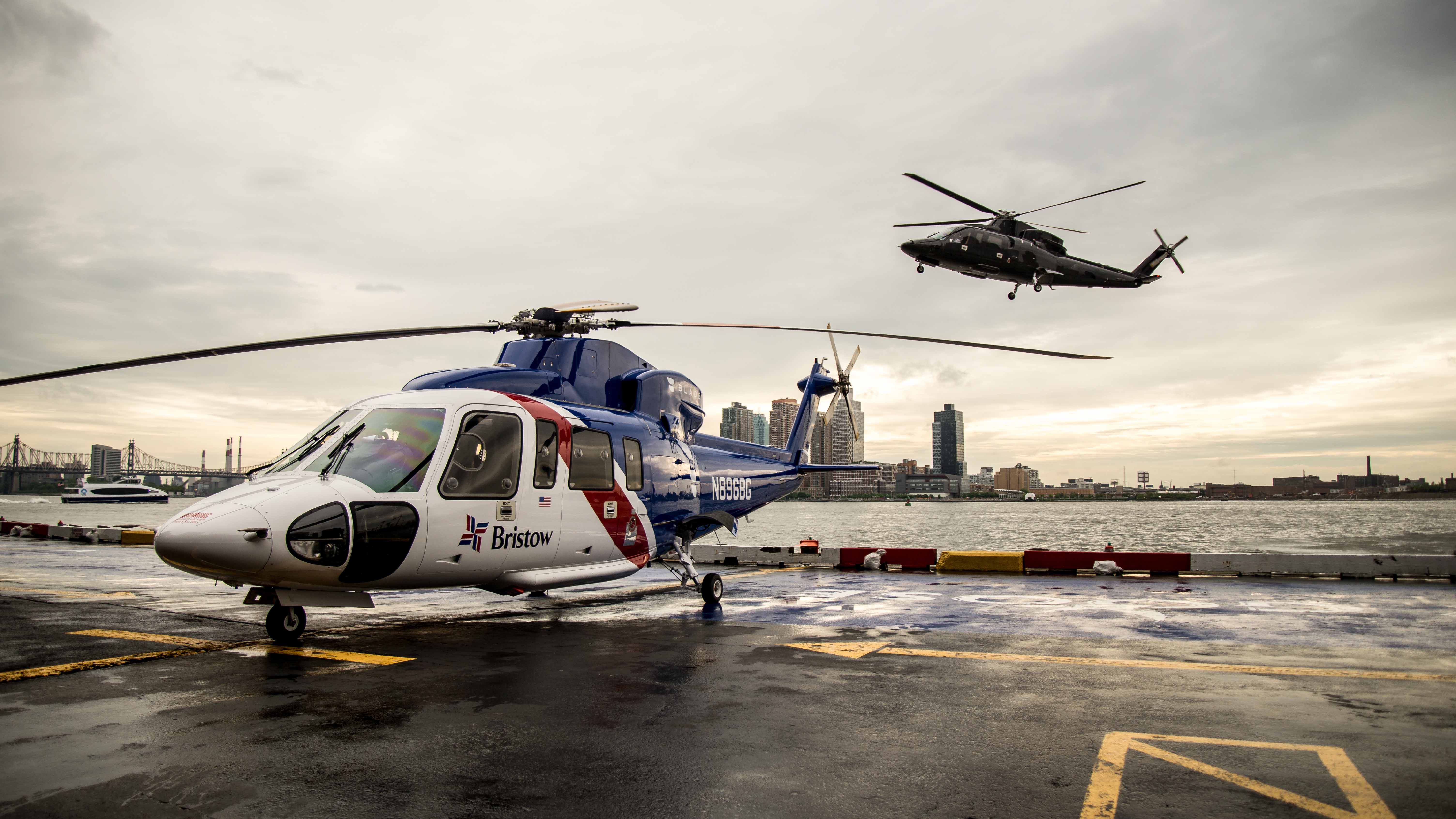 Blade Helicopter Service bristow delta manhattan