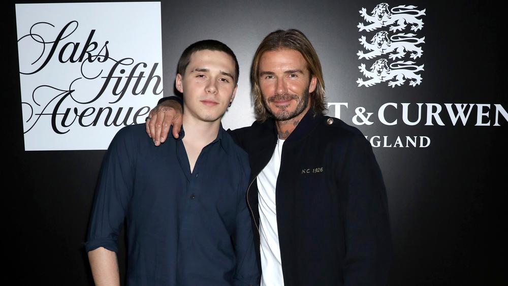 David Beckham Brooklyn Beckham