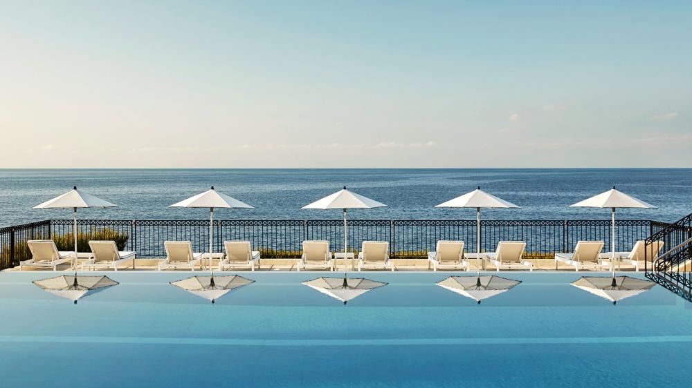 ocean view at Four Seasons Grand-Hotel Du Cap-Ferrat