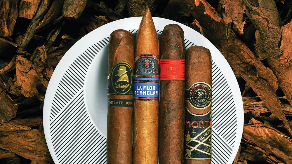 Winston Churchill, Davidoff, Partagas, Montecristo cigars