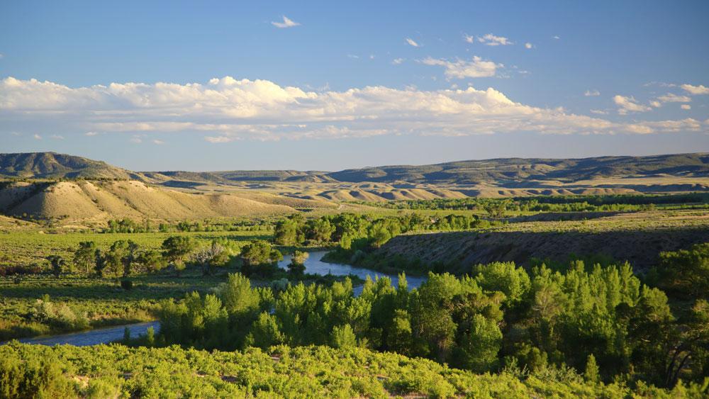 Landscape Cross Mountain Ranch