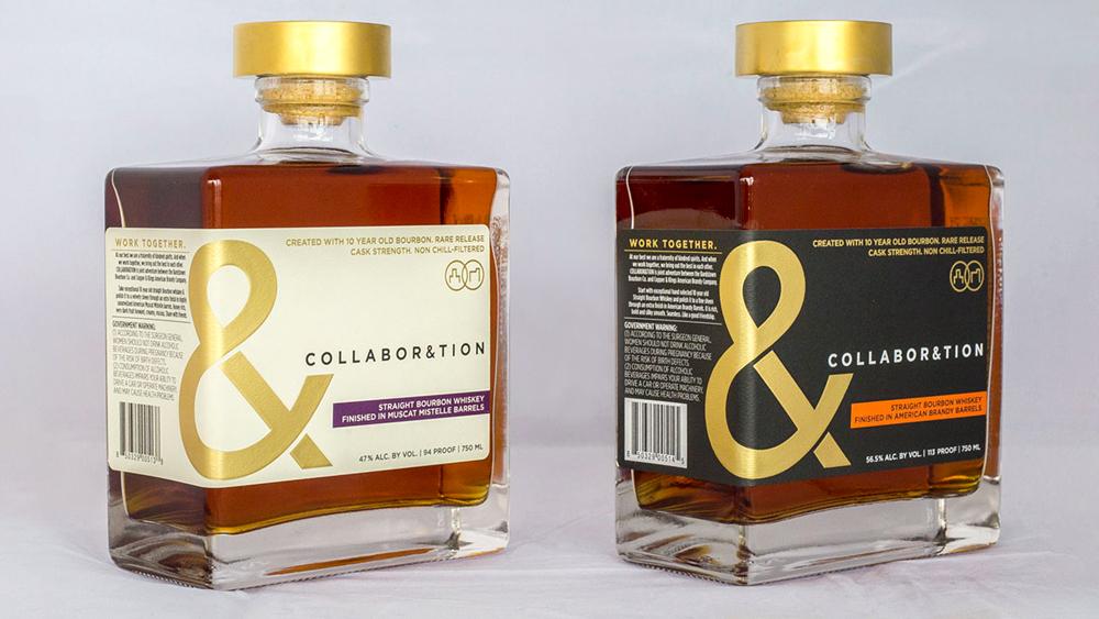 Collaboration Bourbon bottles